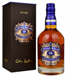CHIVAS REGAL 18 YO Gold Signature Blended Scotch Whisky